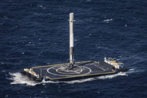 Elon Musk recycle les engins spatiaux