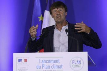 Nicolas Hulot le manchot de l'écologie