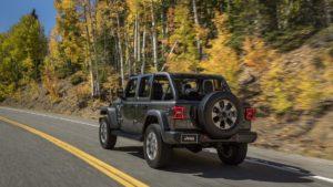 le nouveau jeep wrangler 2018
