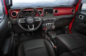 l'intérieur du nouveau jeep wrangler est plus moderne