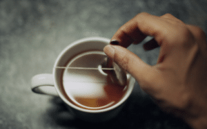 Thé aux pesticides