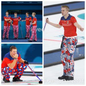 équipe norvégienne de curling aux JO de PyeongChang 2018