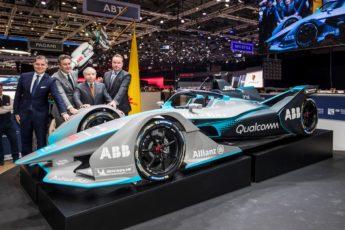 Formule E Gen2 au salon de l'automobile à Genève