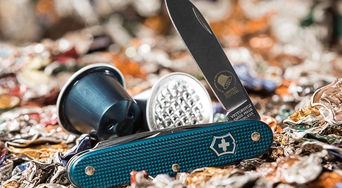 Le couteau Victorinox aux allures des capsules Nespresso