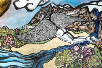 Première collaboration artistique de SAUVAGES News avec Axel Roumy