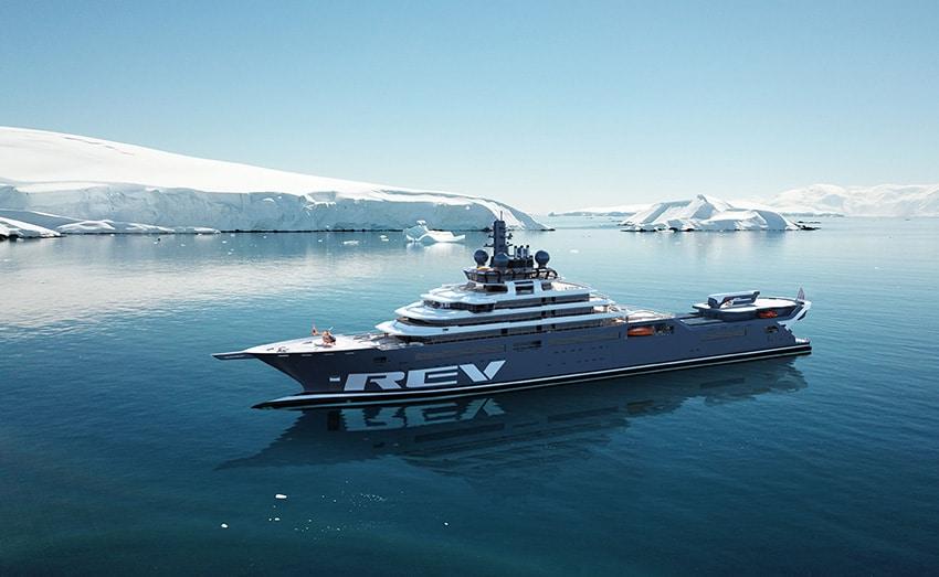 le yacht REV ocean navigue pour sauver l'océan