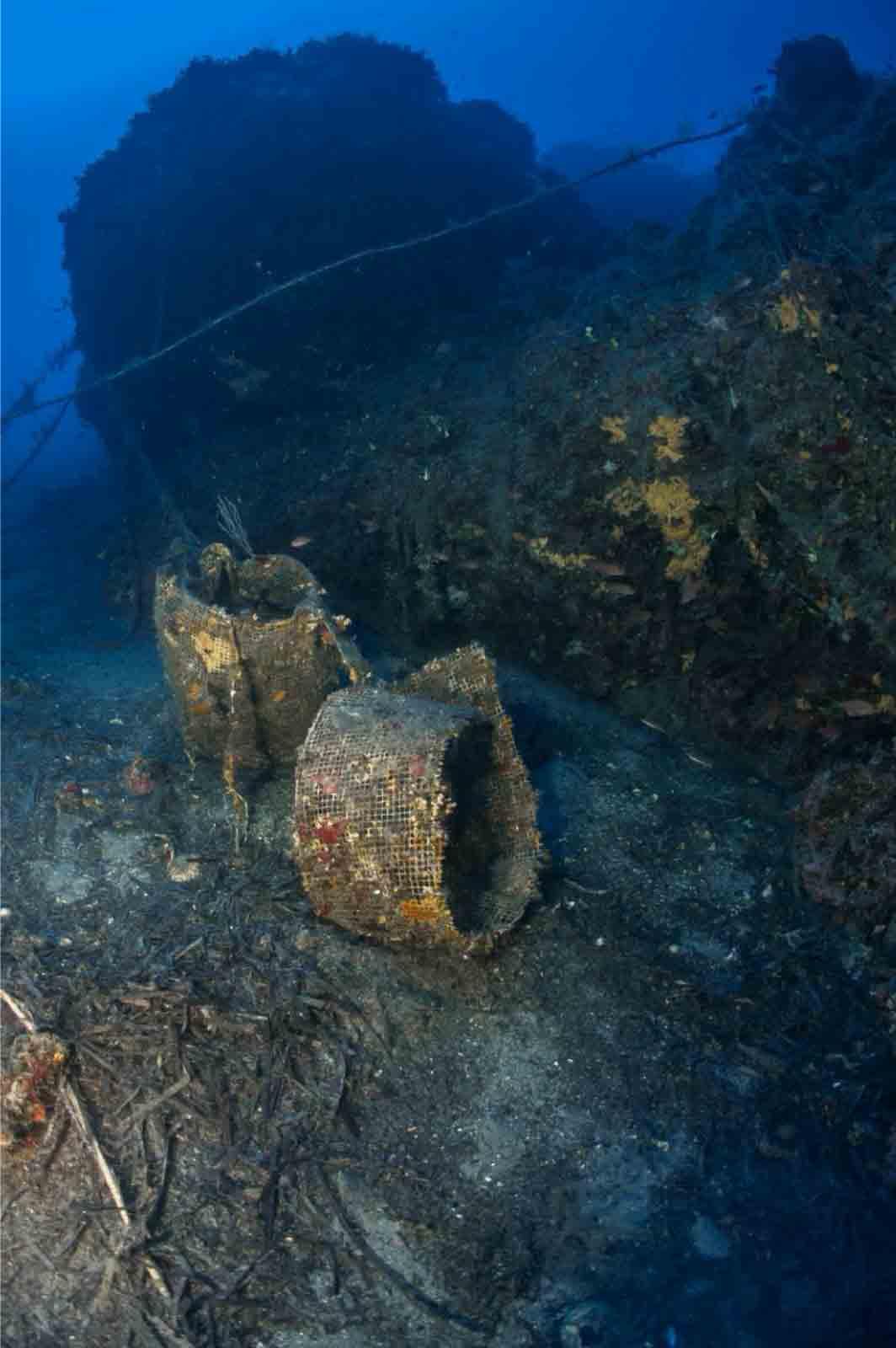 déchet en mer Méditerranée